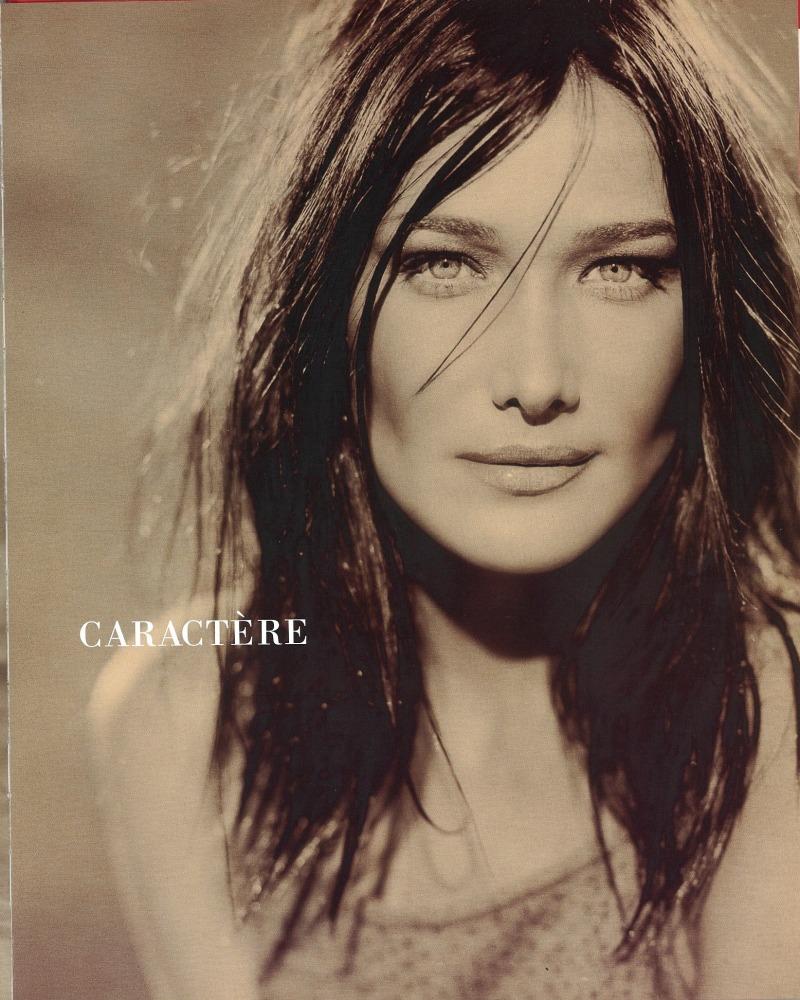 Adv caract re ph eckstein model carla bruni loc paris - Paris 2000 hair salon ...