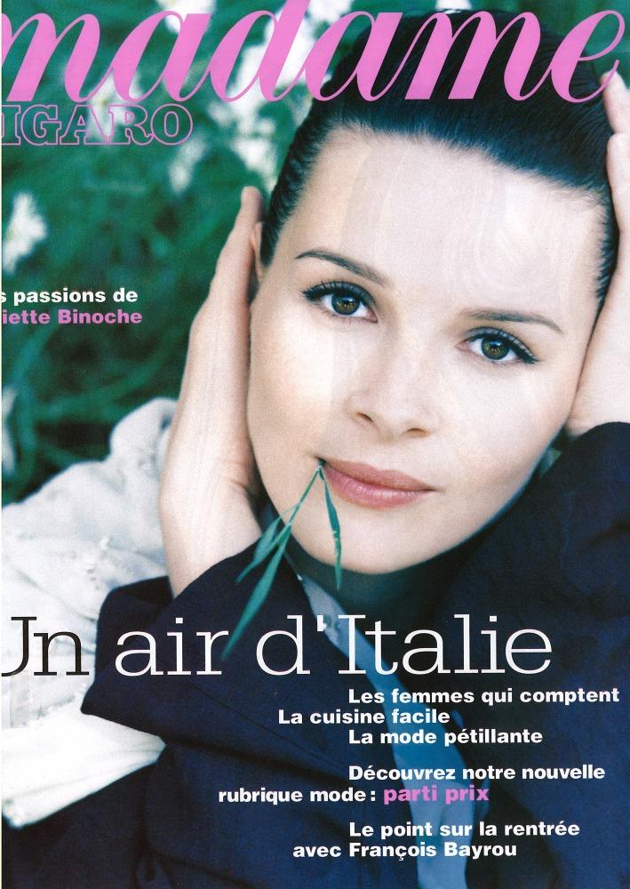 Magazine madame figaro ph a rau model j binoche loc - Paris 2000 hair salon ...