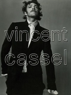 Magazine: L'Uomo Vogue - Photographer: Michel Comte - Model: Vincent Cassel - Location: Paris - Hair: Pier Giuseppe Moroni