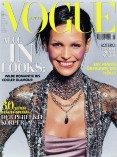 Magazine: Deutsch Vogue - Photographer: Michel Comte - Model: Ines Sastre - Location: Studio Industria, New York - Hair: Pier Giuseppe Moroni