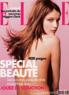 Magazine: Elle France - Photographer: Christoph Meimon - Model: Letitia Casta - Location: Studio Pin Up, Parigi - Hair: Pier Giuseppe Moroni
