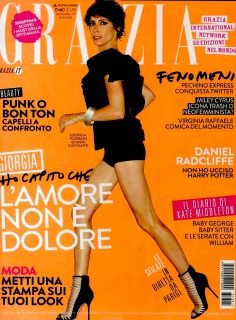 magazine: Grazia ph: Toni Thorimbert model: Giorgia hair: P.G.Moroni