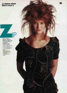 Magazine: Eva Photographer: Toscani Location: Superstudio Milano 1988 Hair: Pier Giuseppe Moroni