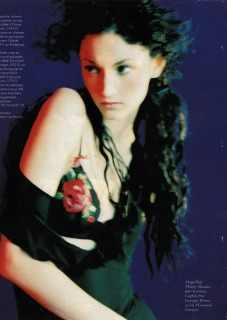 Magazine: French Elle Ph: Woolley Loc: Paris'95 hair Pier Giuseppe Moroni
