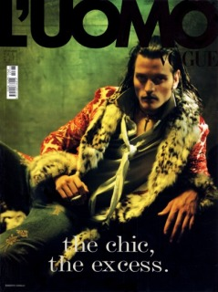 Magazine: L'Uomo Vogue - Photographer: Paolo Roversi - Location: Parigi - Hair: Pier Giuseppe Moroni